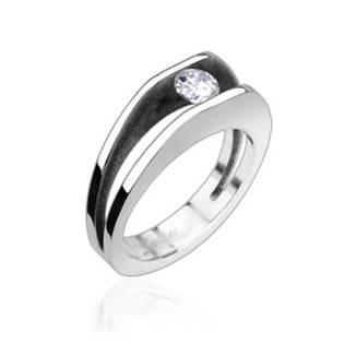 Zásnubní prsten chirurgická ocel OPR1314 vel.52
