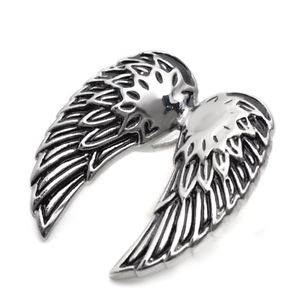Ocelový přívěšek - andělská křídla