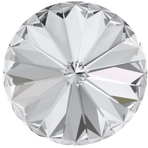 Crystals from Swarovski ® RIVOLI 12 mm - CRYSTAL