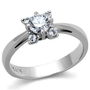 Ocelový prsten se zirkony OPR1641