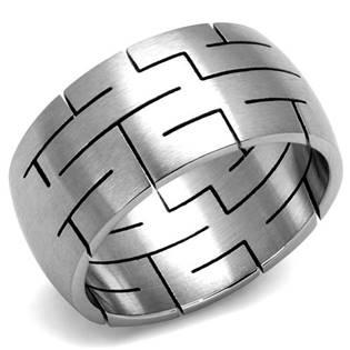 Pánský ocelový prsten vel.62 OPR1065