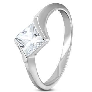 Ocelový prsten se zirkonem OPR1653