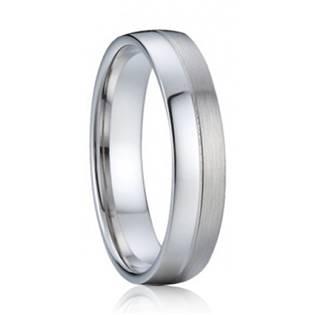 AN1030 Pánský stříbrný snubní prsten
