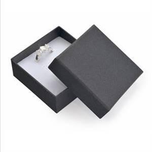 KR0073-K Dárková krabička na soupravu šperků - černá