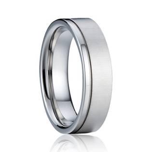 AN1040-P Pánský stříbrný snubní prsten 5 mm