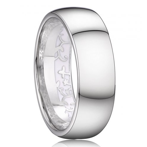 AN1037 Pánsky snubný prsteň striebro AG 925/1000