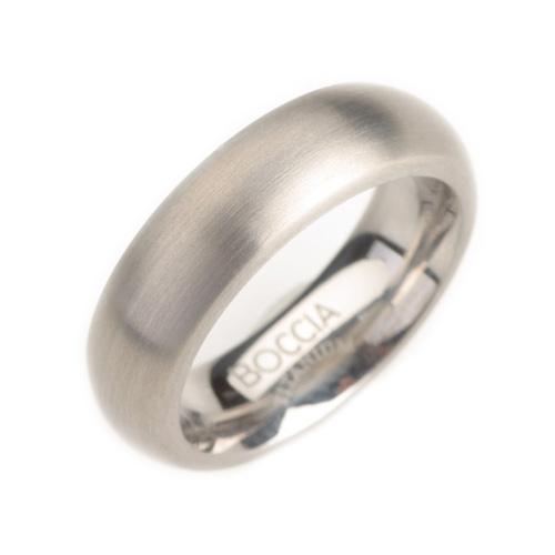 Dámsky titánový prsteň matný BOCCIA® 0102-01