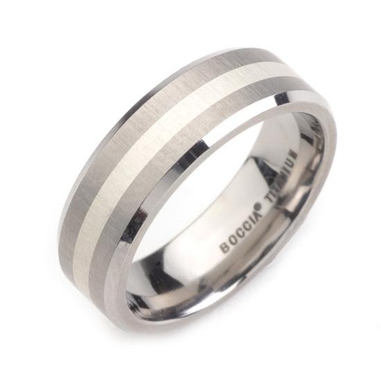 Dámsky titánový snubný prsteň BOCCIA® 0106-02