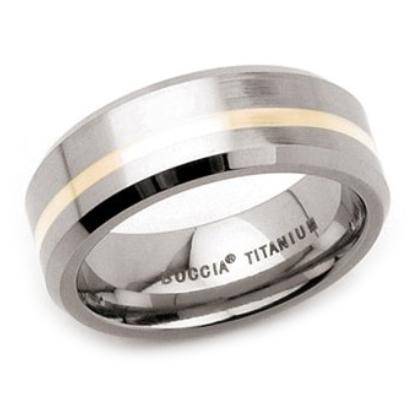 Titánový prsteň BOCCIA® 0114-01