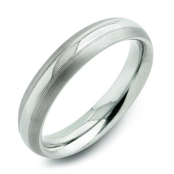 Dámsky titánový snubný prsteň BOCCIA® 0131-01