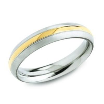 Dámsky titánový snubný prsteň BOCCIA® 0131-02