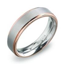 Pánsky titánový snubný prsteň BOCCIA® 0134-03