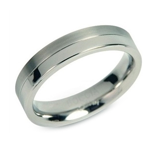 Titánový prsteň BOCCIA® 0129-01