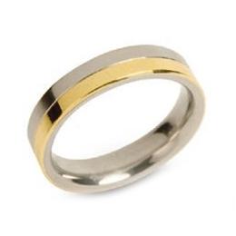 Dámsky titánový snubný prsteň BOCCIA® 0129-02