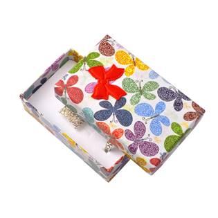 Dárková krabička na soupravu šperků