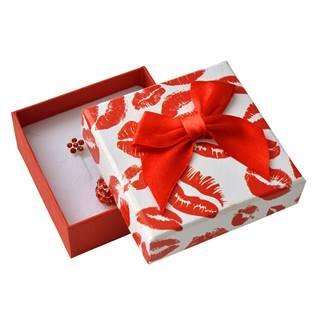 Dárková krabička na soupravu šperků, pusinky