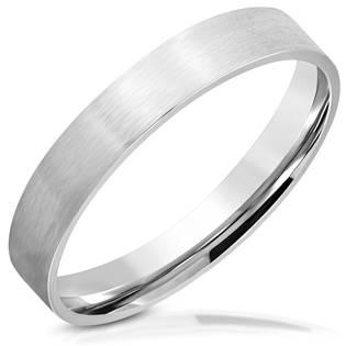 Ocelový prsten matný šíře 3,5 mm OPR1741