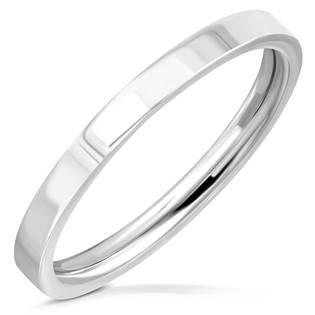 Ocelový prsten lesklý šíře 2 mm OPR1746