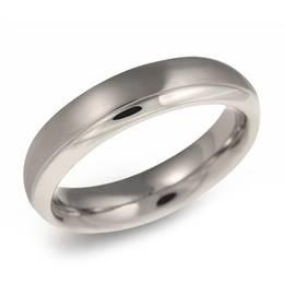 Pánský titanový snubní prsten BOCCIA® 0130-07