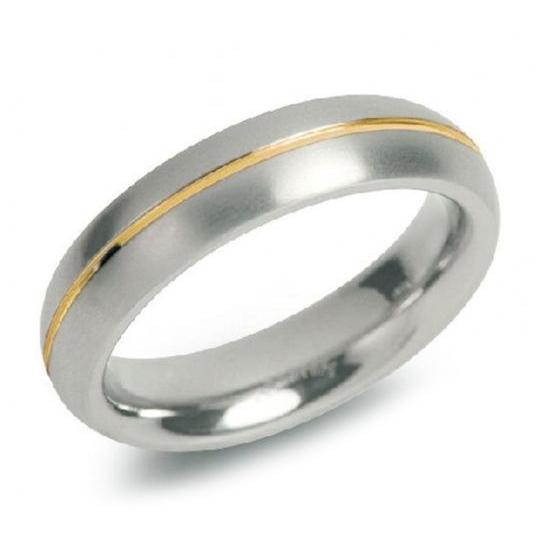 Dámsky titánový snubný prsteň BOCCIA® 0130-02