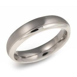 Pánsky titánový snubný prsteň BOCCIA® 0130-07