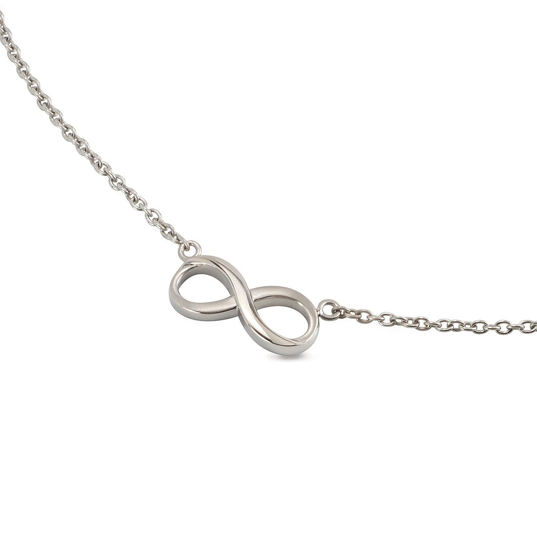 Titanový náhrdelník nekonečno 08016-01 B08016-01