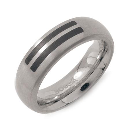 Dámsky titánový snubný prsteň BOCCIA® so smaltom 0102-12