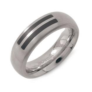 Titanový prsten BOCCIA® se smaltem 0102-12