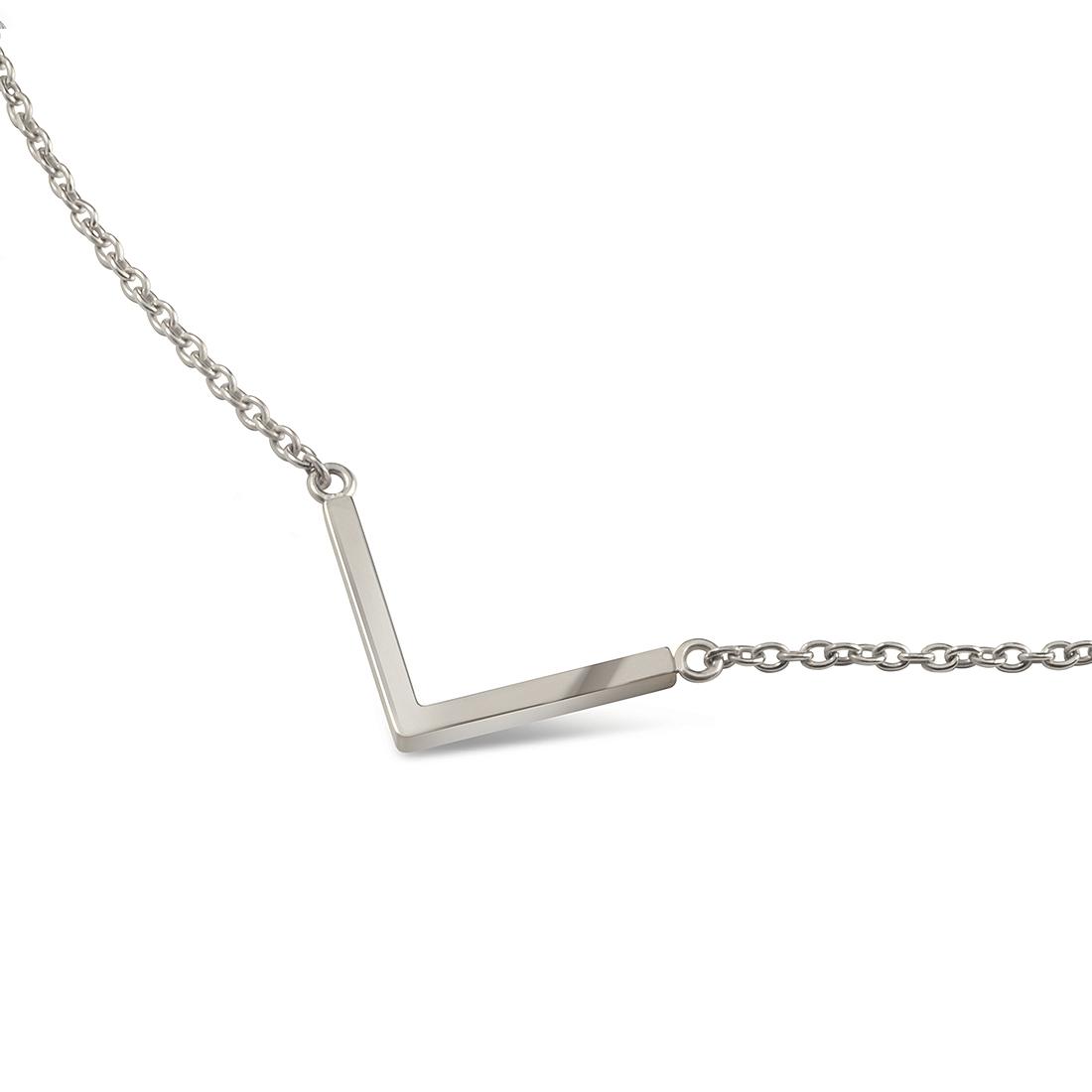 """Titanový náhrdelník """"šipka"""" 08015-01 B08015-01"""
