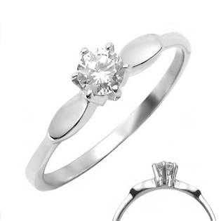 Ocelový prsten se zirkonem OPR1127