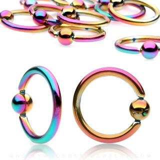 Piercing - kruh - dúhový