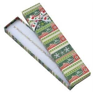 Dárková vánoční krabička na náramek