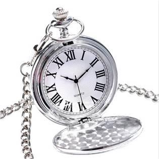 Šperky4U Kapesní hodinky otevírací - cibule - KH0027