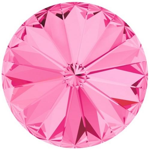 Crystals from Swarovski ® RIVOLI 12 mm - ROSE