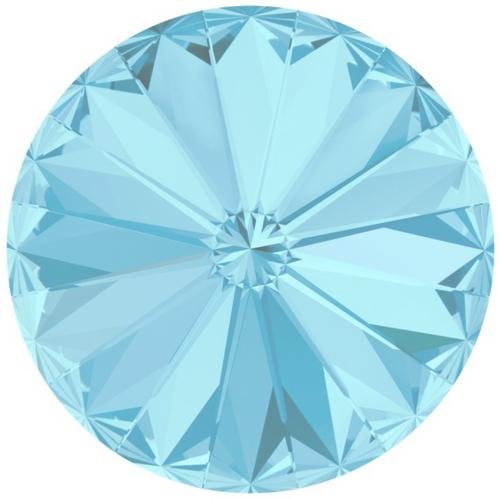 Crystals from Swarovski ® RIVOLI 12 mm - AQUAMARINE