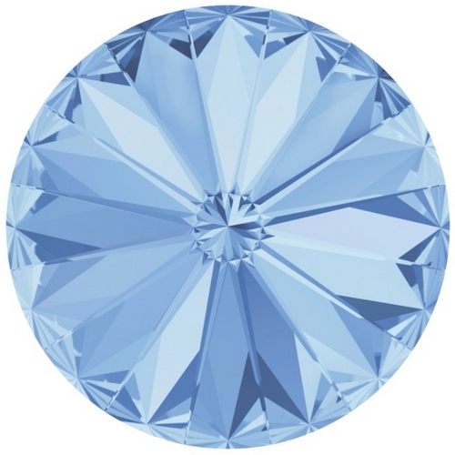 Crystals from Swarovski ® RIVOLI 12 mm - LIGHT SAPPHIRE