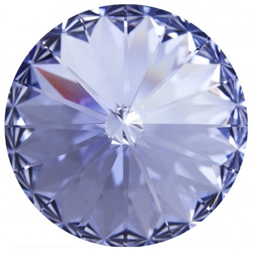 Crystals from Swarovski ® RIVOLI 12 mm - LIGHT LEVANDER