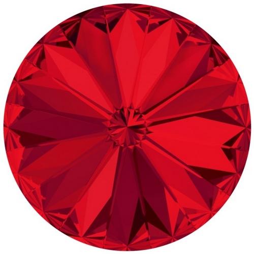Crystals from Swarovski ® RIVOLI 12 mm - SCARLET