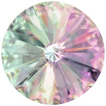 Crystals from Swarovski ® RIVOLI 12 mm - VITRAIL LIGHT