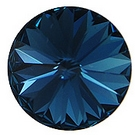 Crystals from Swarovski® RIVOLI 12 mm - MONTANA BLUE