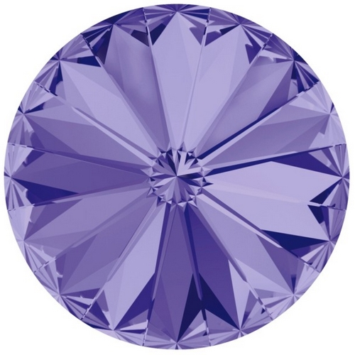Crystals from Swarovski ® RIVOLI 12 mm - TANZANITE