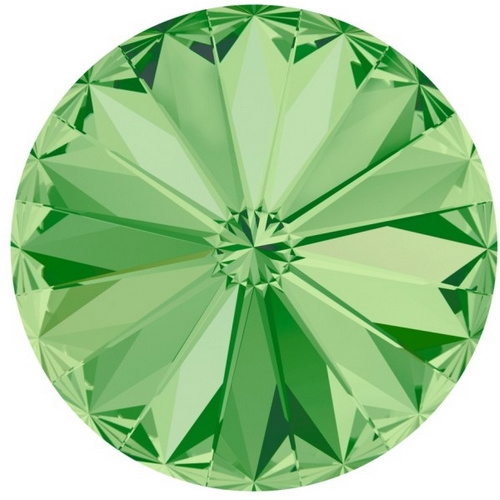 Crystals from Swarovski ® RIVOLI 12 mm - PERIDOT