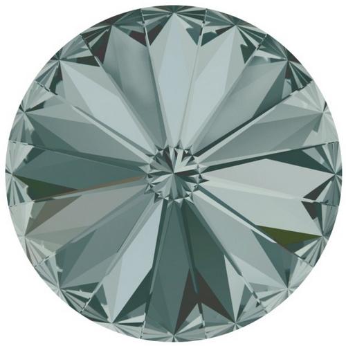 Crystals from Swarovski ® RIVOLI 12 mm - BLACK DIAMOND