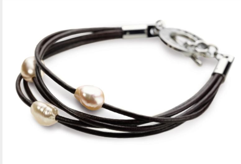 Dámsky náramok s perličkami BOCCIA® 0363-01