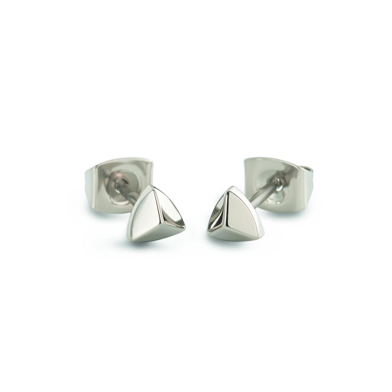 Titanové náušnice trojúhelníky 05015-01 B05015-01