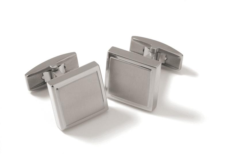 Titánové manžetové gombíky BOCCIA® 0602-01