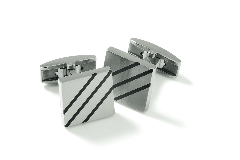 Titánové manžetové gombíky BOCCIA® 0602-07