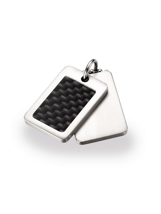Titánový prívesok s karbónom BOCCIA® 0743-01