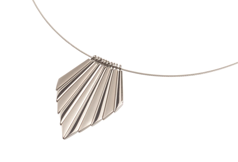 Titanový náhrdelník 45 cm 08007-0145 B08007-0145