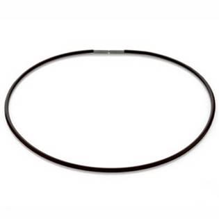 Černá kaučuková šňůra 0827-0142, délka 42 cm